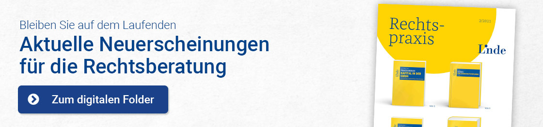 Linde Verlag Rechtspraxis 2021